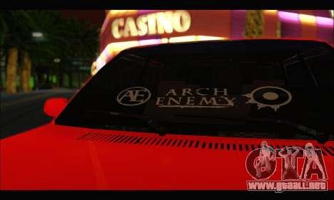 Tofas Dogan SLX Metalist (Arch Enemy) para GTA San Andreas left