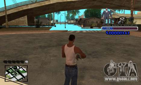 FBI C-HUD para GTA San Andreas