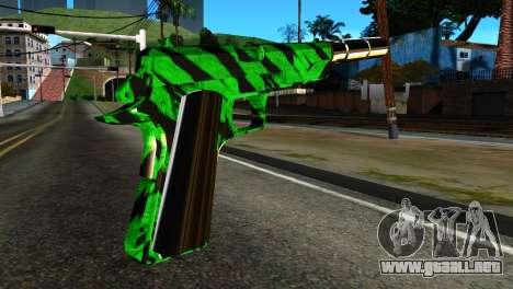 New Silenced Pistol para GTA San Andreas segunda pantalla