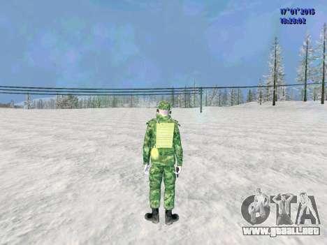 El aire de radio operador para GTA San Andreas segunda pantalla