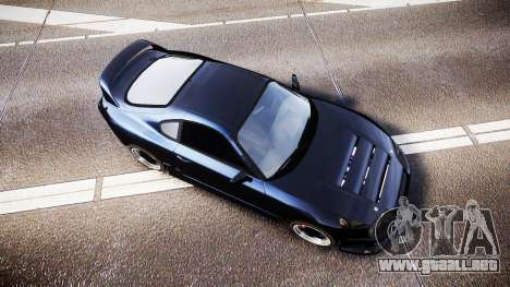 Toyota Supra Tuned para GTA 4 visión correcta