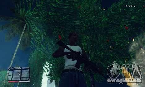 C-HUD GTA 4 with Map para GTA San Andreas quinta pantalla