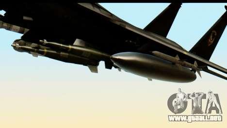 F-15 Razgriz para la visión correcta GTA San Andreas