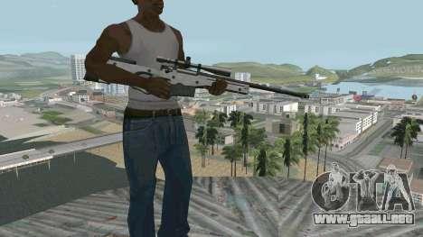 Metal AWP L96A1 para GTA San Andreas segunda pantalla