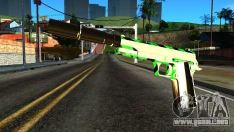 New Silenced Pistol para GTA San Andreas