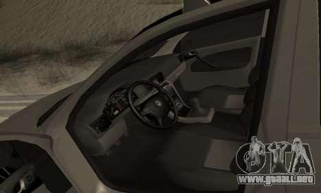 Skoda Octavia Winter Mode para el motor de GTA San Andreas