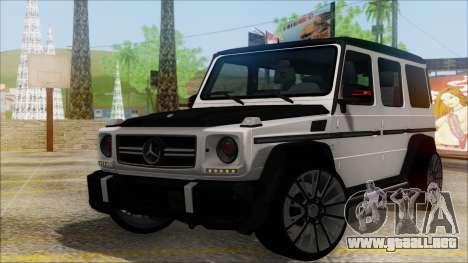 Mersedes-Benz G500 Brabus para GTA San Andreas