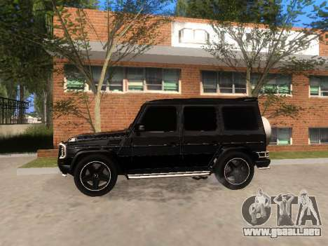 Mercedes-Benz G55 AMG para GTA San Andreas left