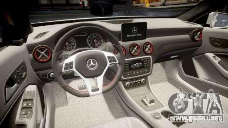 Mersedes-Benz A45 AMG PJs4 para GTA 4 vista lateral