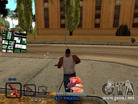 C-HUD by HudMud para GTA San Andreas tercera pantalla