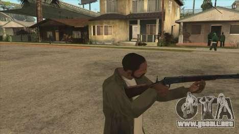 Winchester de Killing Floor para GTA San Andreas segunda pantalla