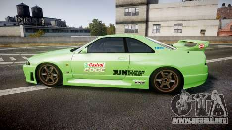 Nissan Skyline BCNR33 JUN VER 1995 v2.0 para GTA 4