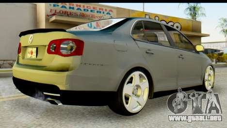 Volkswagen Bora GLI 2010 Tuned para GTA San Andreas left