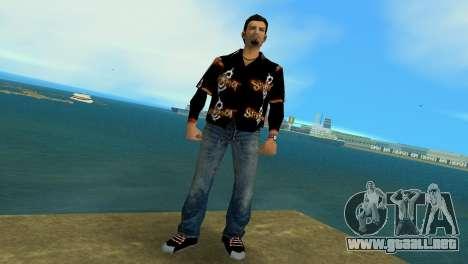 Slipknot 666 Shirt para GTA Vice City segunda pantalla