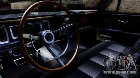 Lincoln Continental para la visión correcta GTA San Andreas
