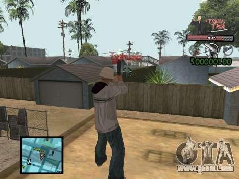 C-Hud Yakuza II para GTA San Andreas tercera pantalla