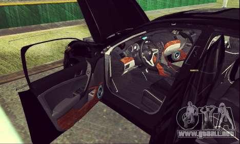Honda Accord Type S 2008 LT para visión interna GTA San Andreas