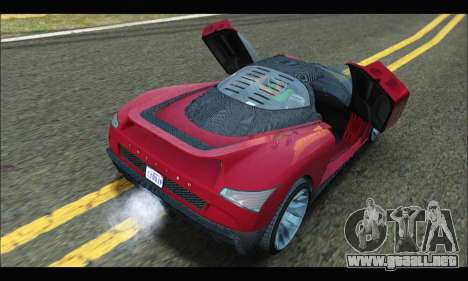 Grotti Cheetah v3 (GTA V) (SA Mobile) para la visión correcta GTA San Andreas