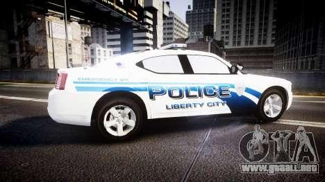 Dodge Charger 2006 LCPD [ELS] para GTA 4 left