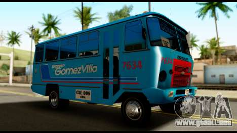 Chevrolet Bus para GTA San Andreas