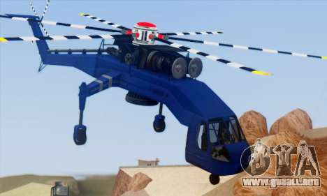 Skylift from GTA IV TBOGT para la visión correcta GTA San Andreas