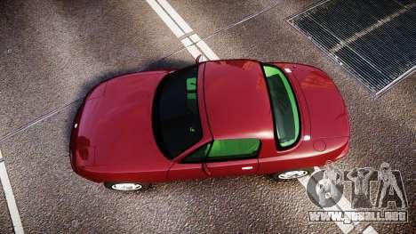Mazda MX-5 Miata NA 1994 [EPM] para GTA 4 visión correcta