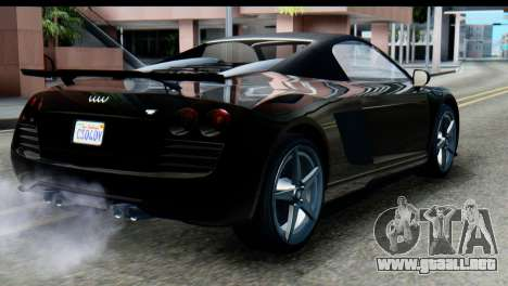 GTA 5 Obey 9F Cabrio SA Mobile para GTA San Andreas left
