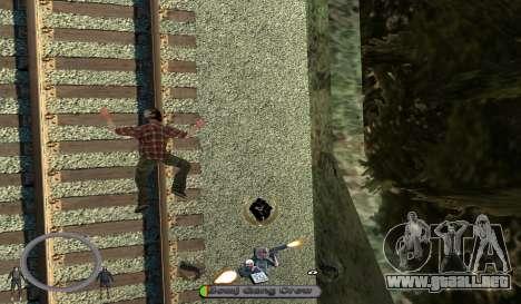 C-HUD BomjGang para GTA San Andreas tercera pantalla