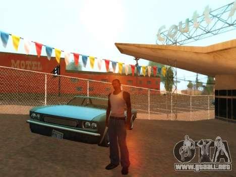 ENB by Robert para GTA San Andreas sucesivamente de pantalla