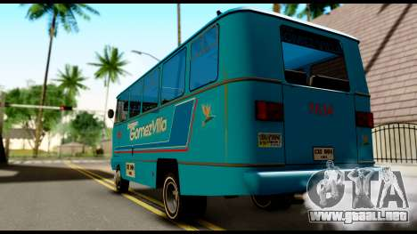 Chevrolet Bus para GTA San Andreas left