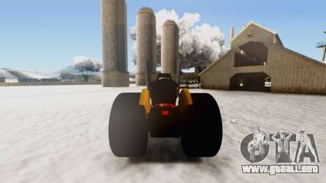 Tractor Kor4 v2 para la visión correcta GTA San Andreas