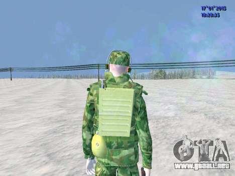 El aire de radio operador para GTA San Andreas tercera pantalla