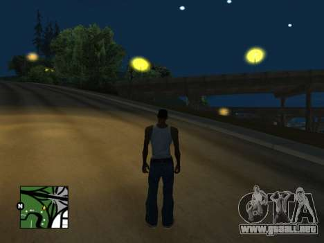 Plaza de radar de GTA 5 para GTA San Andreas segunda pantalla