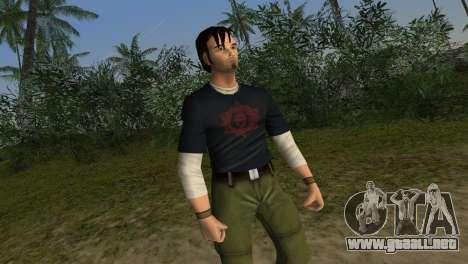 Kurtis Trent v.2 para GTA Vice City quinta pantalla