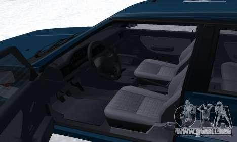 Daewoo-FSO Polonez Kombi 1.6 GSI Police 2000 para la vista superior GTA San Andreas