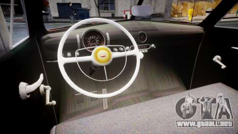 Ford Custom Tudor 1949 para GTA 4 vista interior