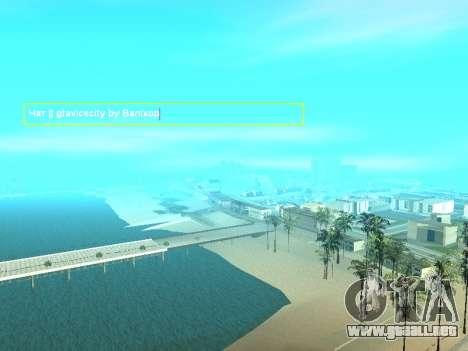 SampGUI Vagos Gang para GTA San Andreas segunda pantalla