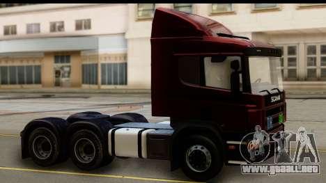 Scania P340 para la visión correcta GTA San Andreas