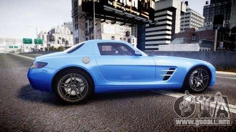 Mersedes-Benz SLS AMG 2010 para GTA 4 left