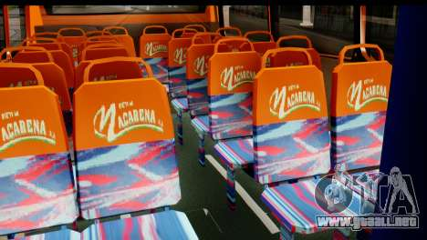 Dodge Ram Microbus para GTA San Andreas vista posterior izquierda