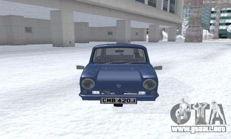 Reliant Supervan III para GTA San Andreas left