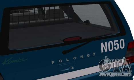 Daewoo-FSO Polonez Kombi 1.6 GSI Police 2000 para GTA San Andreas