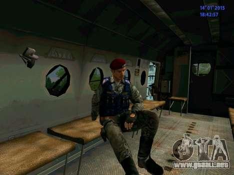 El Capataz Del Águila para GTA San Andreas sexta pantalla