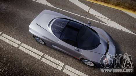 BMW Italdesign Nazca C2 v5.1 para GTA 4 visión correcta