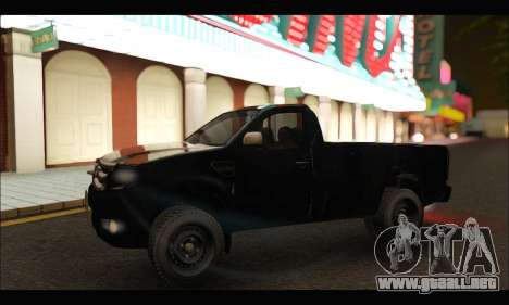 Ford Ranger Cabina Simple 2013 para GTA San Andreas left
