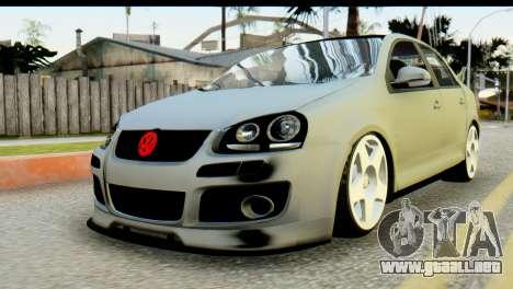 Volkswagen Bora GLI 2010 Tuned para GTA San Andreas