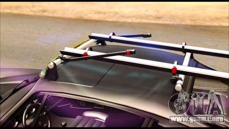 Porsche 911 1980 Winter Release para GTA San Andreas vista hacia atrás