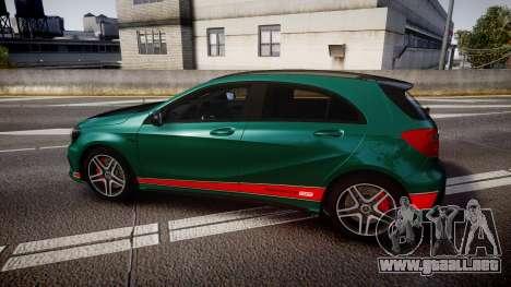 Mersedes-Benz A45 AMG PJs4 para GTA 4 left