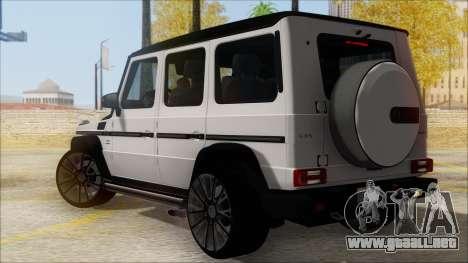 Mersedes-Benz G500 Brabus para GTA San Andreas left