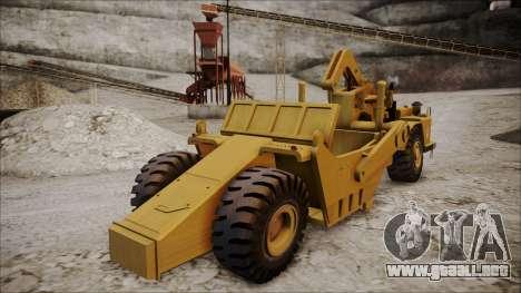 Caterpillar 631D para GTA San Andreas left